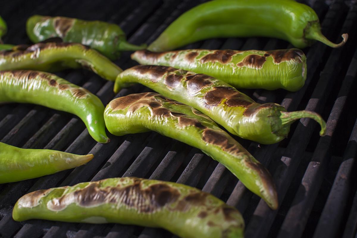 roasting-green-chili
